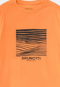 Brunotti - TIM - Triko s potiskem - faded orange - 2