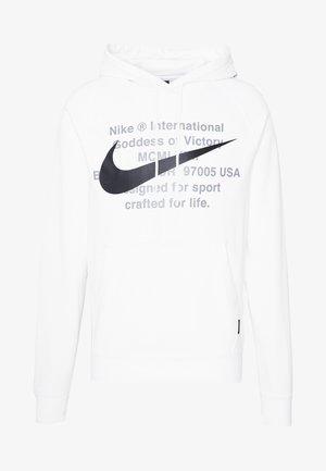 HOODIE - Bluza z kapturem - white/black