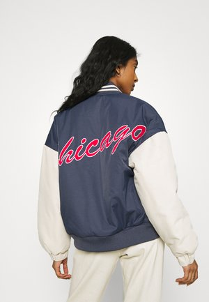 CHICAGO VARSITY JACKET - Bomber Jacket - blue