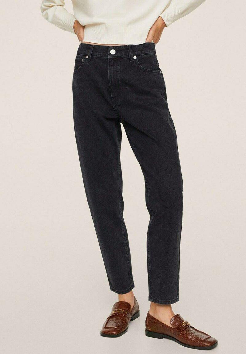 Mango - Jeans Tapered Fit - black denim