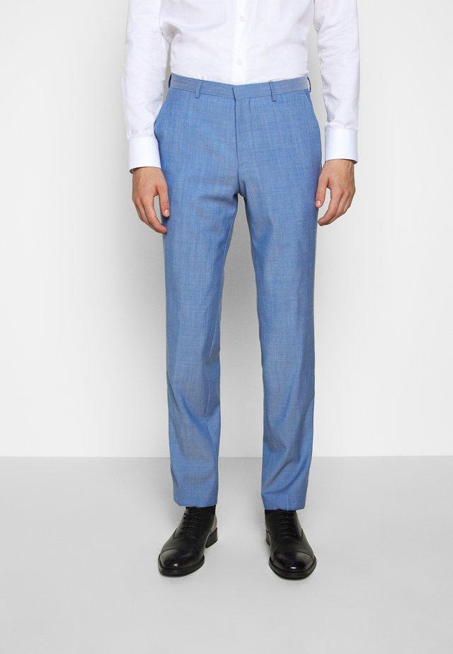 SIMMONS - Suit trousers - light pastel blue
