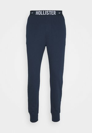 JOGGER LOUNGE BOTTOMS - Pyjama bottoms - navy