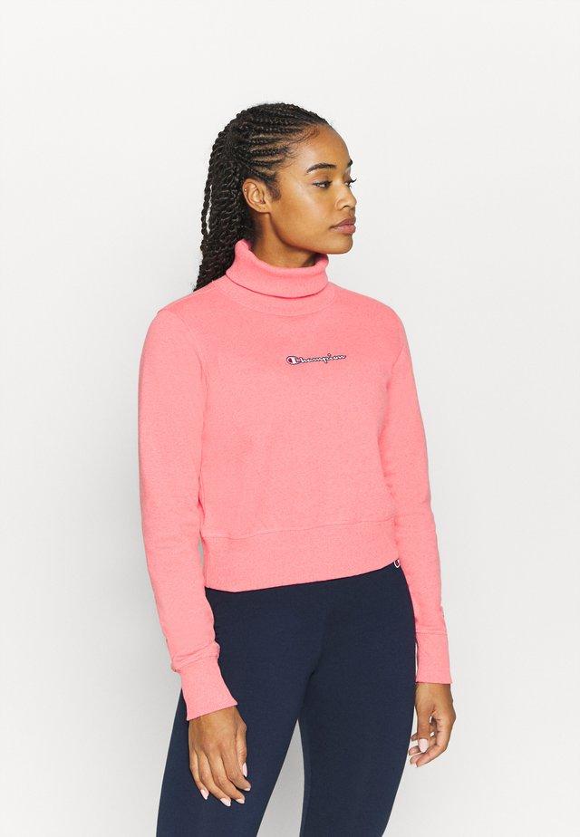 HIGH NECK ROCHESTER - Collegepaita - pink