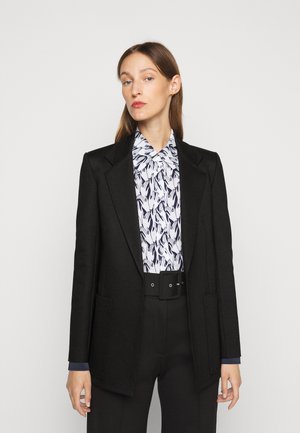 PATCH POCKET JACKET - Short coat - black
