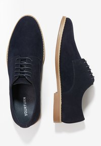 YOURTURN - Smart lace-ups - dark blue
