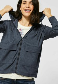 Cecil - Zip-up sweatshirt - blau - 2