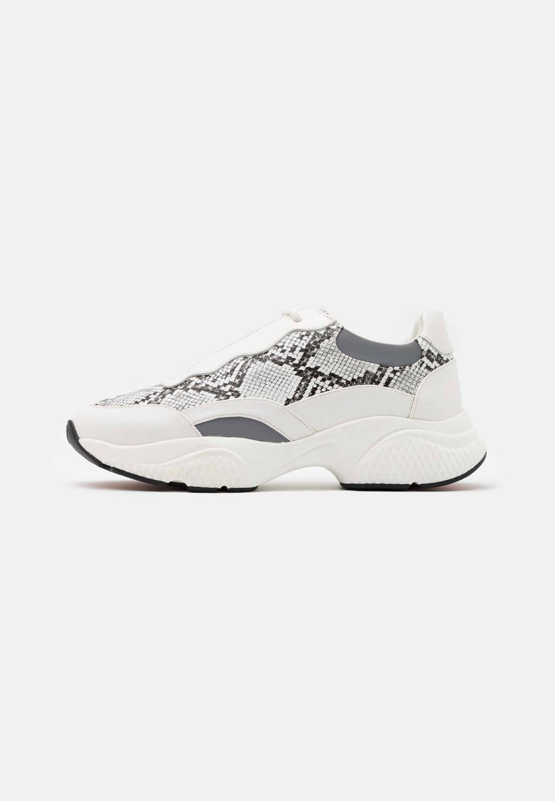 Ed Hardy - INSERT RUNNER - Trainers - white/charcoal