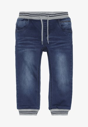 NMMBOB PANT - Jeansy Zwężane - medium blue denim
