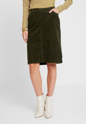 SKIRT PENCIL STYLE - Pencil skirt - farmland green