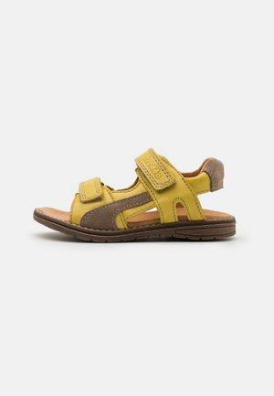 DAROS DOUBLE UNISEX - Sandals - yellow