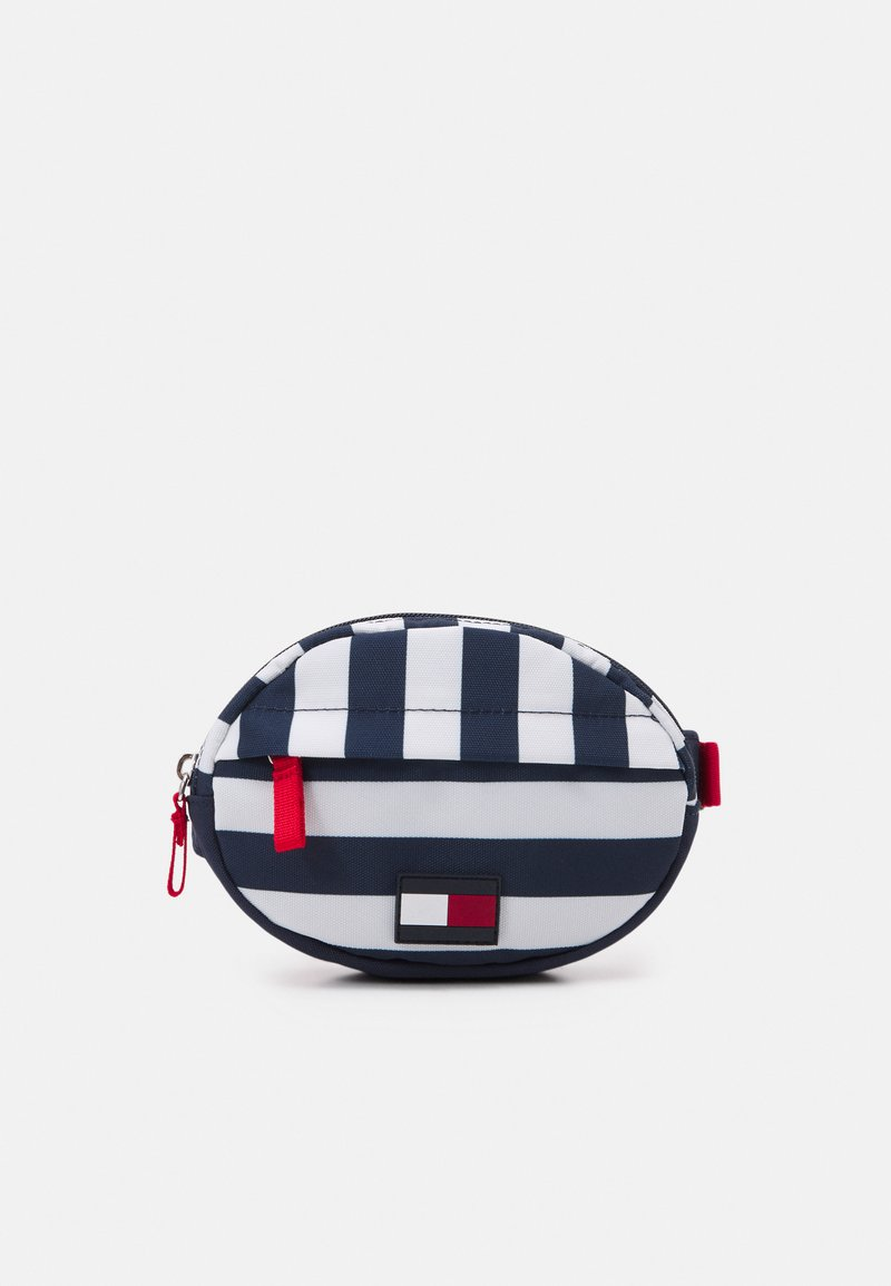 Tommy Hilfiger - CORE ROUND BUMBAG STRIPES UNISEX - Across body bag - navy/white