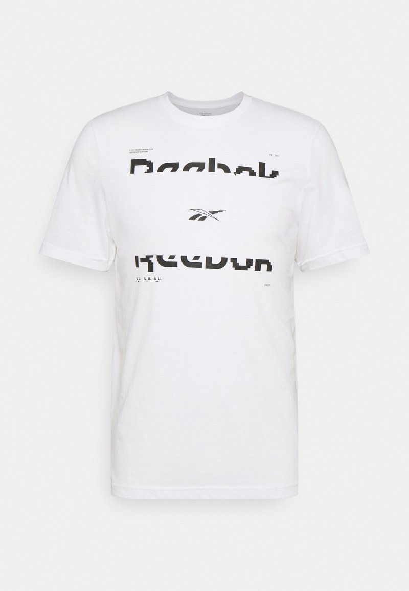 Reebok - TEE - T-shirt imprimé - white