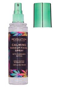 Make up Revolution - CALMING WITH CANNABIS SATIVA - Setting spray & powder - - - 1