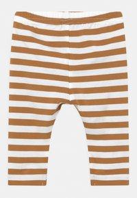 Name it - NBNLEGGING 3 PACK UNISEX - Leggings - Trousers - bone brown - 1