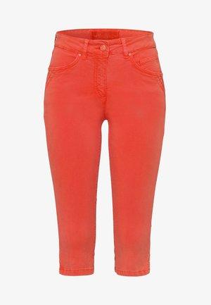 CAPRI - Denim shorts - orange
