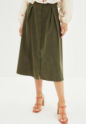 PARENT - A-line skirt - green