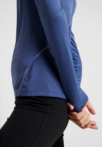 Diadora - X RUN - T-shirt à manches longues - night blue - 4