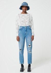 Pimkie - MOM FIT JEAN - Straight leg jeans - denimblau - 0