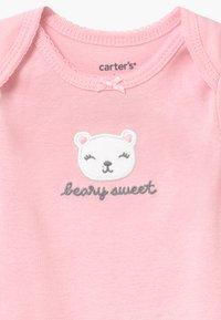 Carter's - FLORAL SET - Body - blue/light pink - 3