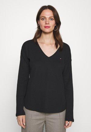 CATHY - Long sleeved top - black
