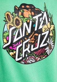 Santa Cruz - UNISEX DRESSEN PUP DOT HOOD - Sweatshirt - jade green - 5