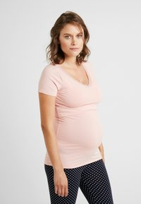 Noppies - NURS FLOOR SOLID - Pyjama top - silver pink - 0