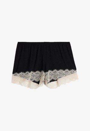 Pyjama bottoms - nero/seta