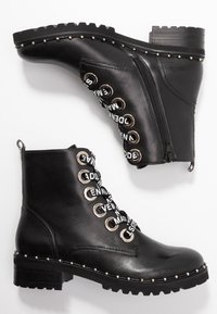 Steve Madden - TESS - Bottines à lacets - black - 3
