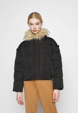 ULTIMATE COLLAR PUFFER JACKET - Winter jacket - black