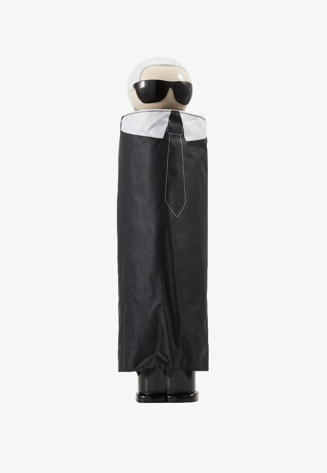 K/IKONIK KARL PRINT UMBRELLA - Umbrella - black