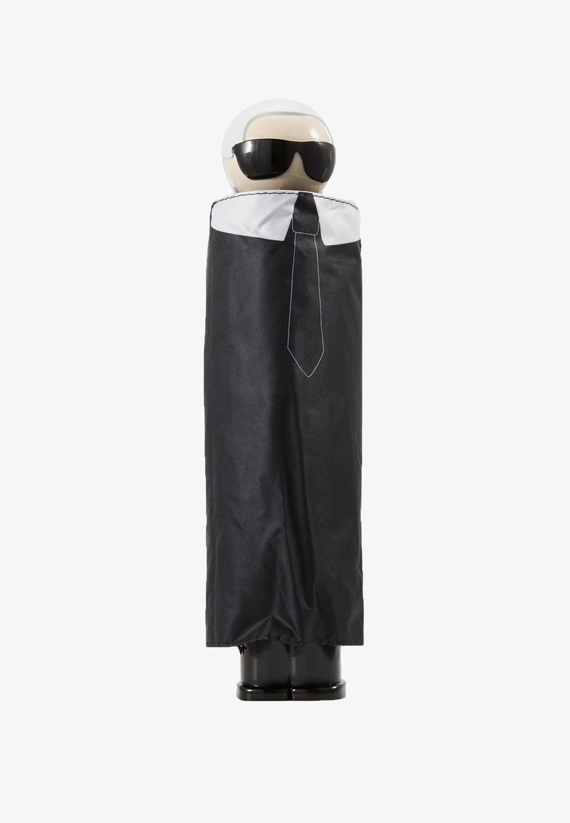 KARL LAGERFELD - K/IKONIK KARL PRINT UMBRELLA - Umbrella - black
