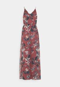 Vero Moda - VMWONDA WRAP DRESS - Maxi dress - rose brown - 1