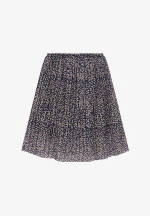 OPRAH  - A-line skirt - black iris