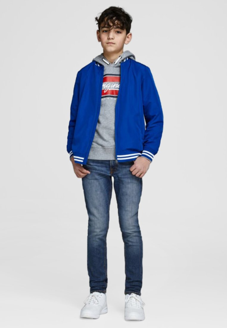 Jack & Jones Junior - Skinny džíny - blue