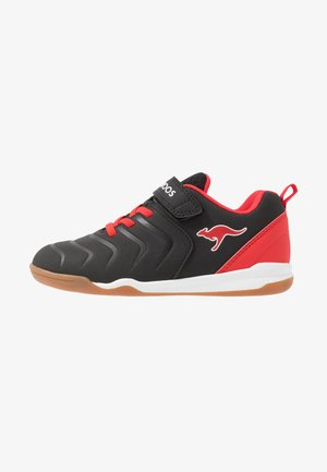SPEED COMB - Trainers - jet black/fiery red