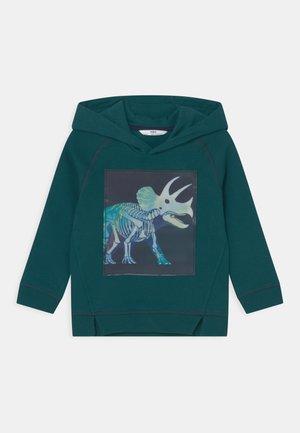 DINO HOODIE - Sweater - petrol green