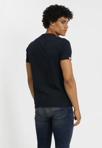 Superdry - ORANGE LABEL - T-shirt basique - eclipse navy - 2