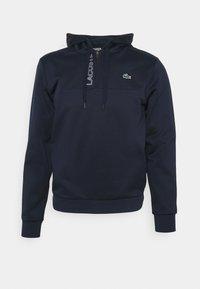 Lacoste Sport - TECH HOODY ZIP - Collegepaita - navy blue - 0