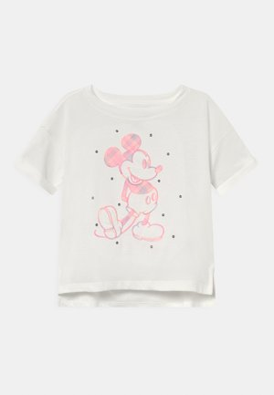 DISNEY MINNIE MOUSE GIRLS - T-shirt imprimé - new off white