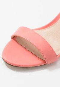 Madden Girl - BEELLA - High heeled sandals - coral - 2