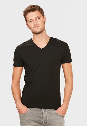 HERREN-BASIC T-SHIRT - Camiseta básica - black