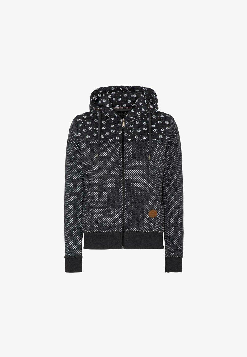 HANGOWEAR - Zip-up sweatshirt - dunkelgrau