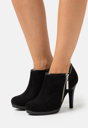 CLAUDIA - High heeled ankle boots - black