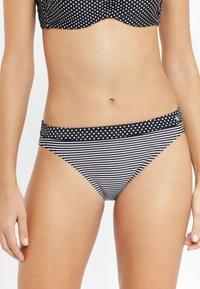 s.Oliver - Bikini bottoms - black - 0