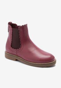 Next - SCALLOP - Ankle boots - berry - 1