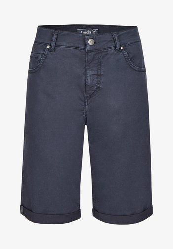 Denim shorts - dunkelblau