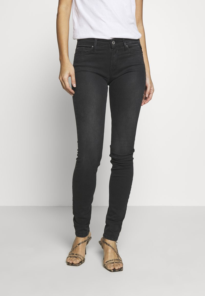 Replay - NEW LUZ - Jeans Skinny Fit - dark grey