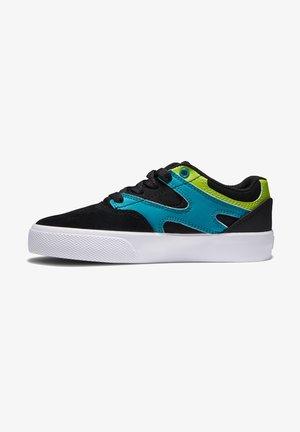 KALIS VULC - Sneakersy niskie - black/green/orange