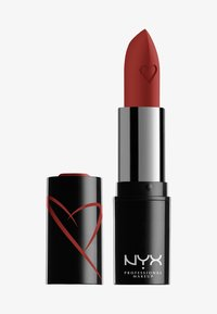 Nyx Professional Makeup - SHOUT LOUD SATIN LIPSTICK - Lippenstift - hot in here - 0