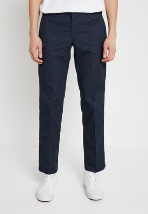 873 SLIM STRAIGHT WORK PANT - Bukser - dark navy